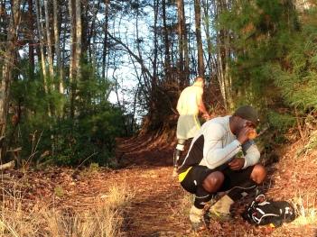 Breaktime on Foothills Trail