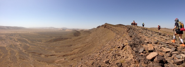 Marathon des Sables (Day 2 - Hered Asfer Jebel Traverse)